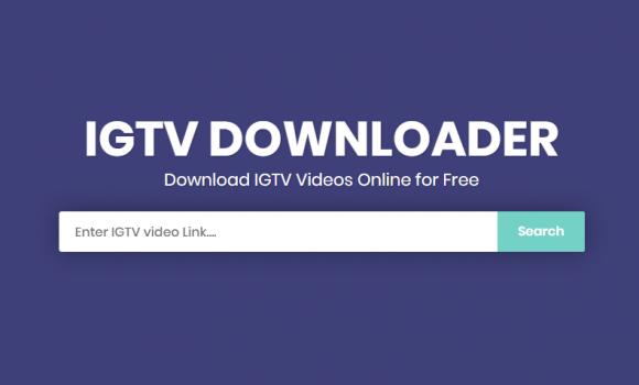 IGTV Downloader Ekran Görüntüleri - 1