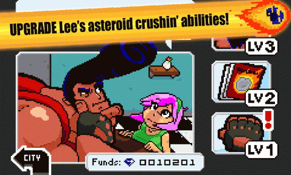 Lee vs the Asteroids 3 - 3
