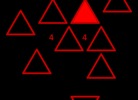 red 4 - 4