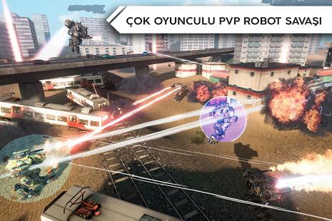Robot Warfare Online Ekran Görüntüleri - 2
