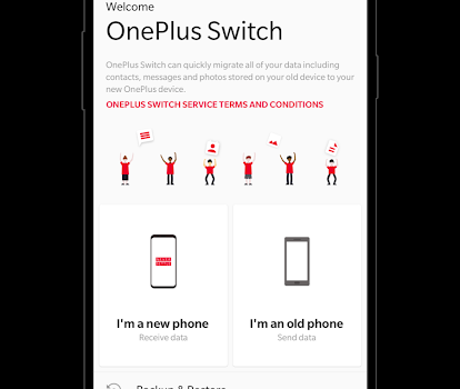 OnePlus Switch Ekran Görüntüleri - 1