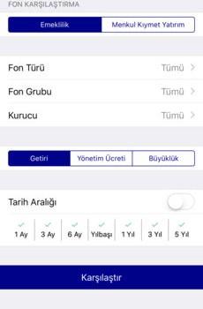 Takasbank TEFAS Ekran Görüntüleri - 4