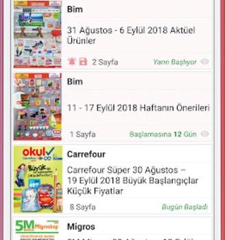 Market Broşürleri Ekran Görüntüleri - 2