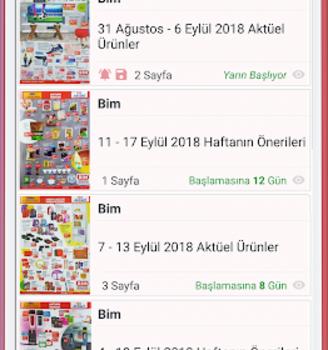 Market Broşürleri Ekran Görüntüleri - 6