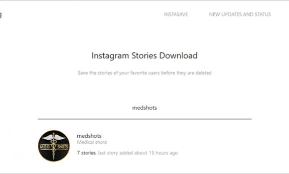 Instagram Stories Download Ekran Görüntüleri - 1