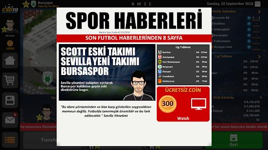 Club Soccer Director 2019 Ekran Görüntüleri - 3