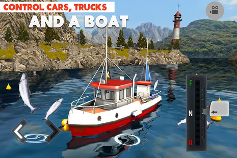 Driving Island: Delivery Quest Ekran Görüntüleri - 1