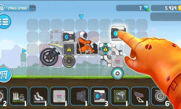 RoverCraft Race Your Space Car Ekran Görüntüleri - 1