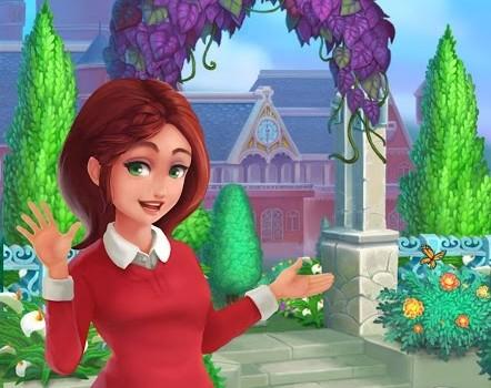 Royal Garden Tales-Match 3 Castle Decoration Ekran Görüntüleri - 1