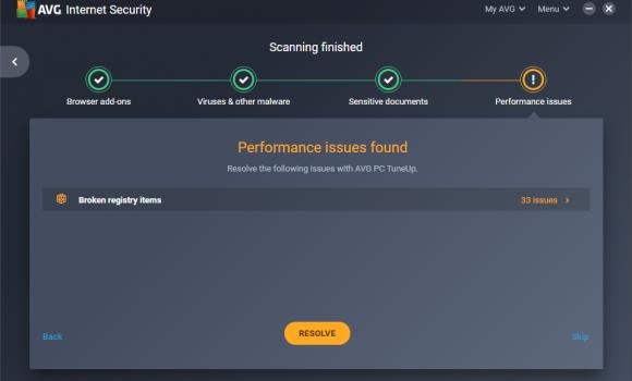 AVG Internet Security Ekran Görüntüleri - 3