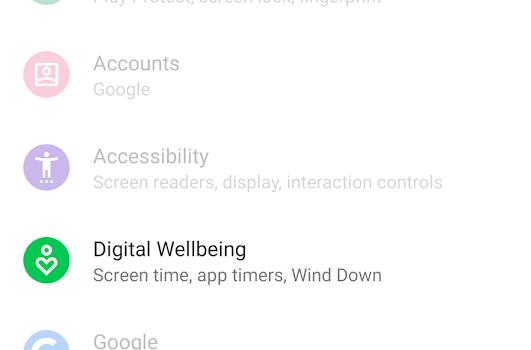 Digital Wellbeing Ekran Görüntüleri - 1