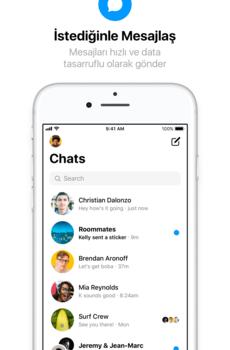Facebook Messenger Lite (APK) Ekran Görüntüleri - 1