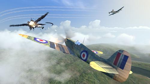 Warplanes: WW2 Dogfight Ekran Görüntüleri - 1