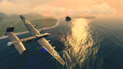 Warplanes: WW2 Dogfight Ekran Görüntüleri - 3