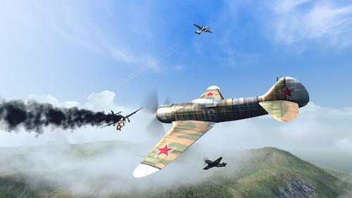 Warplanes: WW2 Dogfight Ekran Görüntüleri - 5