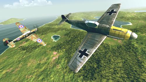 Warplanes: WW2 Dogfight Ekran Görüntüleri - 6