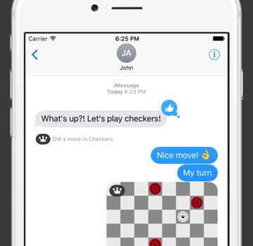 Checkers for iMessage Ekran Görüntüleri - 1