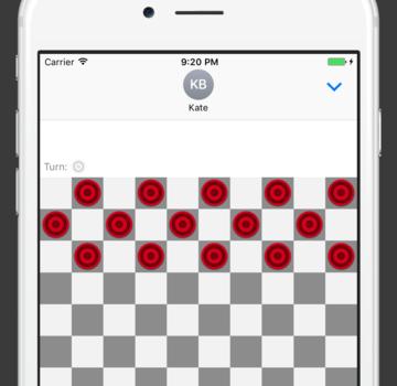 Checkers for iMessage Ekran Görüntüleri - 3
