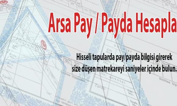 Arsa Pay/Payda Hesaplama Ekran Görüntüleri - 1