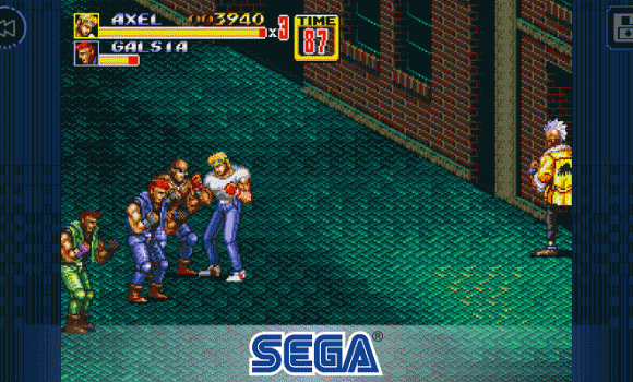 Streets of Rage 2 Classic 1 - 1