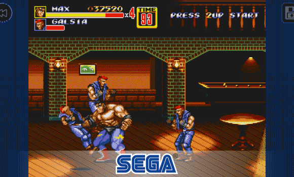 Streets of Rage 2 Classic 2 - 2