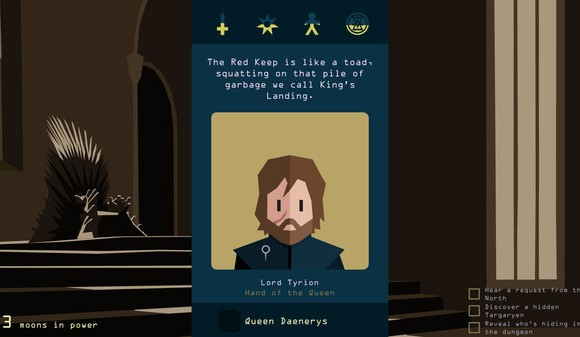 Reigns: Game of Thrones 1 - 1