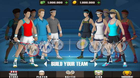Pocket Tennis League Ekran Görüntüleri - 1