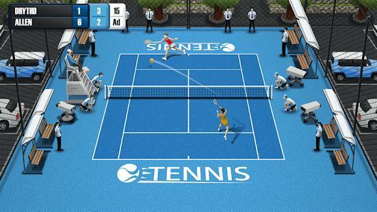 Pocket Tennis League Ekran Görüntüleri - 2