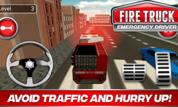 Fire Truck Driver Emergency 2018 Ekran Görüntüleri - 1