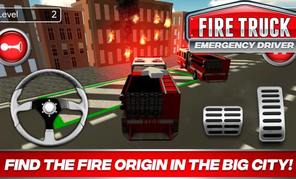 Fire Truck Driver Emergency 2018 Ekran Görüntüleri - 3