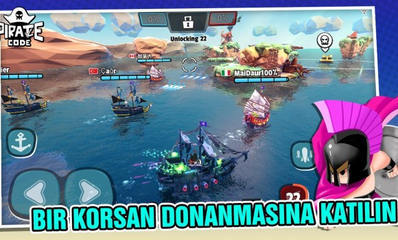 Pirate Code Ekran Görüntüleri - 1