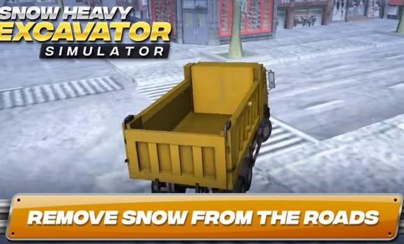 Snow Heavy Excavator Simulator Ekran Görüntüleri - 2