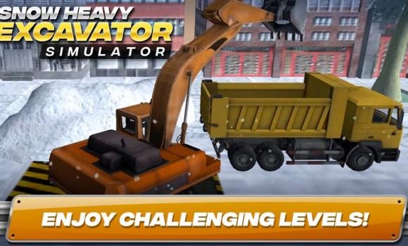 Snow Heavy Excavator Simulator Ekran Görüntüleri - 3