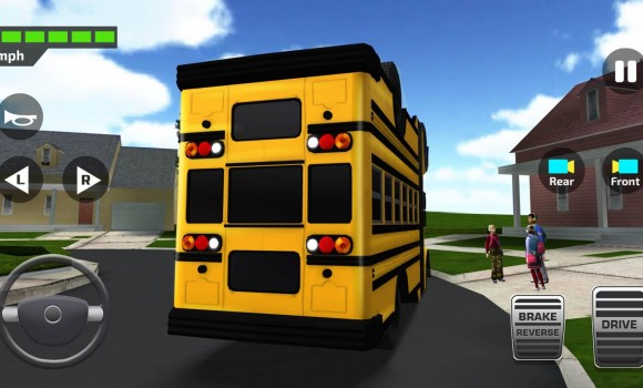 Super High School Bus Driving Simulator 3D Ekran Görüntüleri - 1