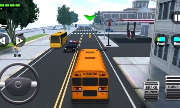 Super High School Bus Driving Simulator 3D Ekran Görüntüleri - 2