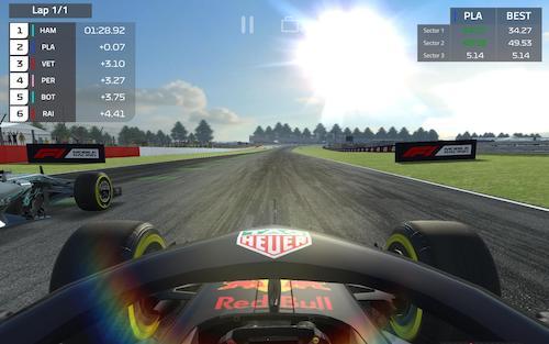 F1 Mobile Racing Ekran Görüntüleri - 7