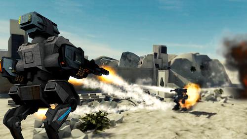 Mech Battle Ekran Görüntüleri - 6