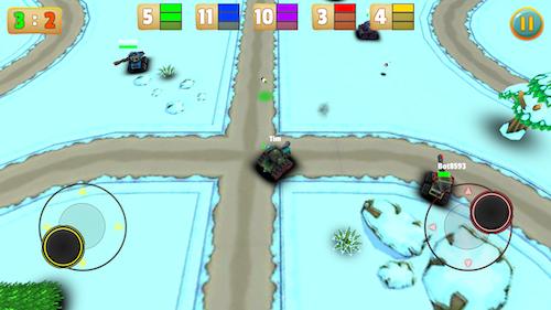 Micro Tanks Online Ekran Görüntüleri - 2