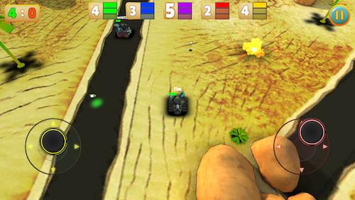 Micro Tanks Online Ekran Görüntüleri - 4