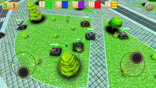 Micro Tanks Online Ekran Görüntüleri - 6