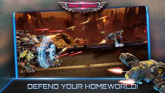 Red Siren: Space Defense Ekran Görüntüleri - 2