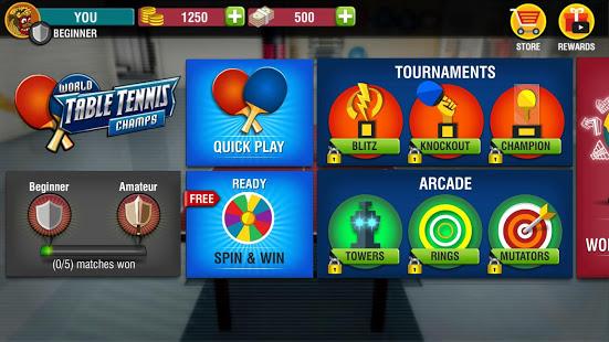 World Table Tennis Champs Ekran Görüntüleri - 1