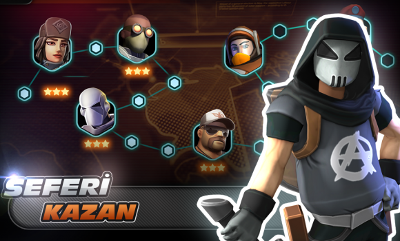 Alpha Squad 5: RPG & PvP Online Battle Arena Ekran Görüntüleri - 3
