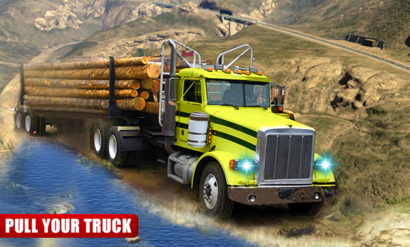 Cargo Truck Driver : Logging Simulator Ekran Görüntüleri - 1