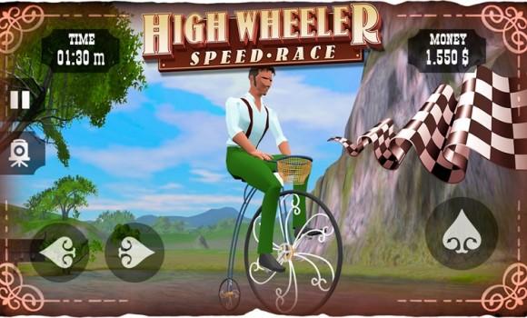 High Wheeler Speed Race Ekran Görüntüleri - 1