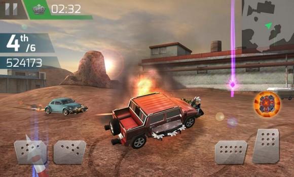 Çarpışan Araba Yarışı 3D Ekran Görüntüleri - 2
