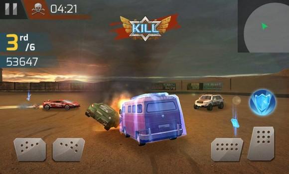 Çarpışan Araba Yarışı 3D Ekran Görüntüleri - 3