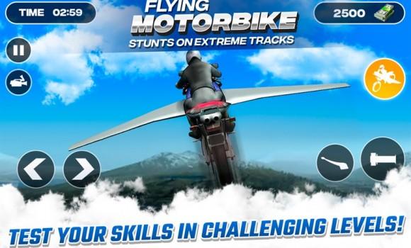 Flying Motorbike Stunts Ekran Görüntüleri - 2
