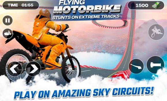 Flying Motorbike Stunts Ekran Görüntüleri - 3