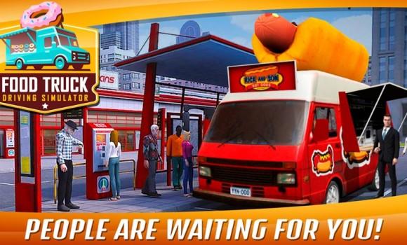 Food Truck Driving Simulator Ekran Görüntüleri - 1